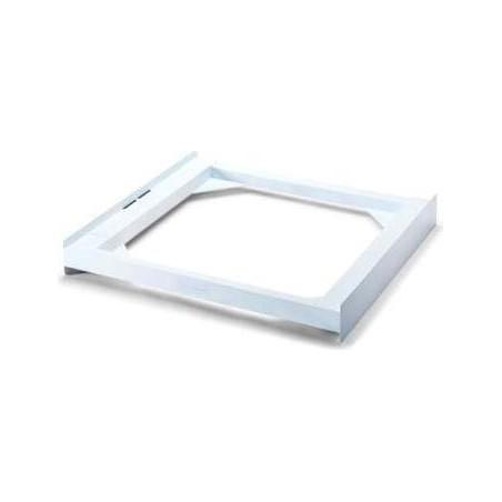 MELICONI Kit lavatrice asciugatrice Kit sovrapposizione 600x550 mm Peso Max 250 kg colore Bianco - 656100 Base Torre Basic