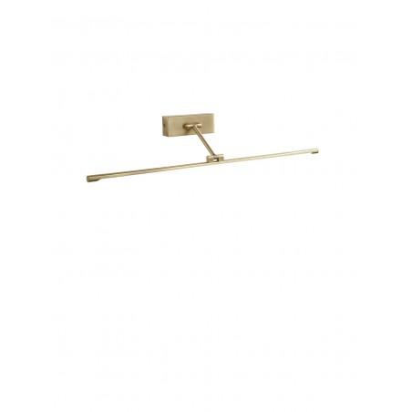 Applique Orientabile Piccolo GEA LUCE LED GAP443N – Lampada Moderna da Parete in Metallo Brunito – 4000K Luce Naturale