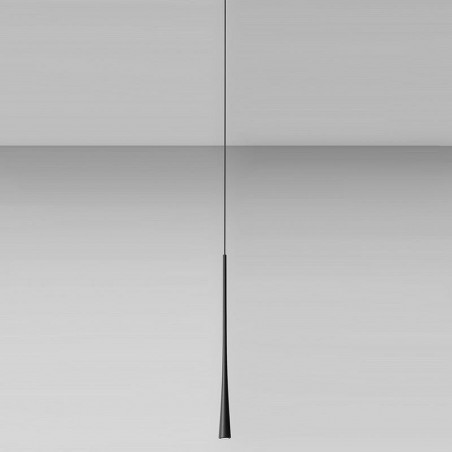 Sospensione moderna a Led lineare 1 luce bianco - Dafne