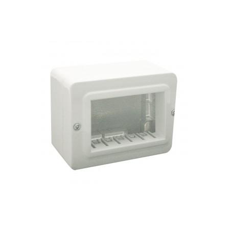 Contenitori ave 44qc03 autoportanti ral 9010 ip40 per minicanali da 20 10 mm a 30 18 mm 3 moduli s4[AVE44QC03]